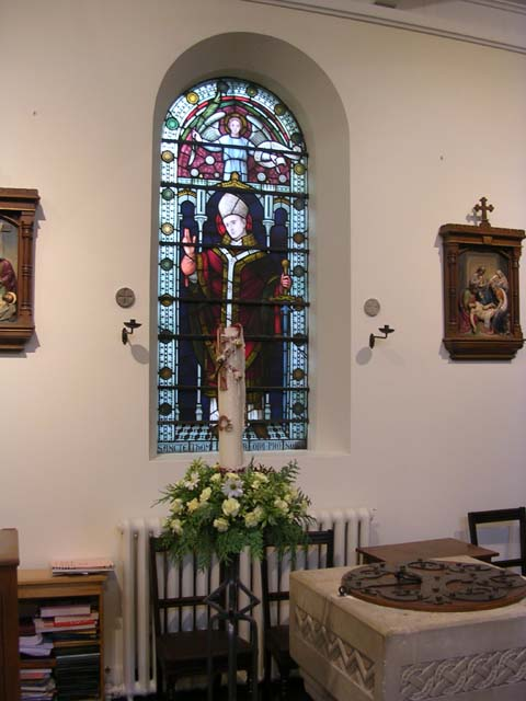 Photo of the Window and Font